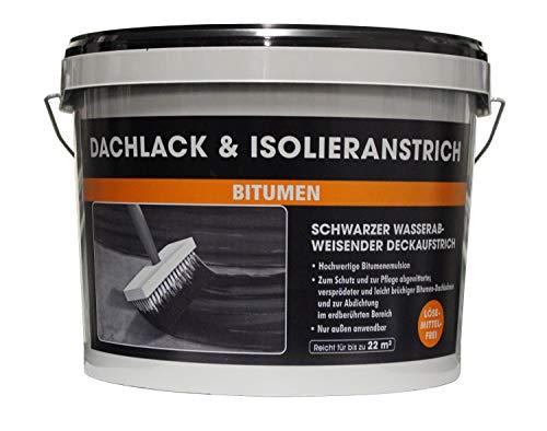 Dachlack & Isolieranstrich MEM 10 Liter Bitumenanstrich Kaltanstrich s