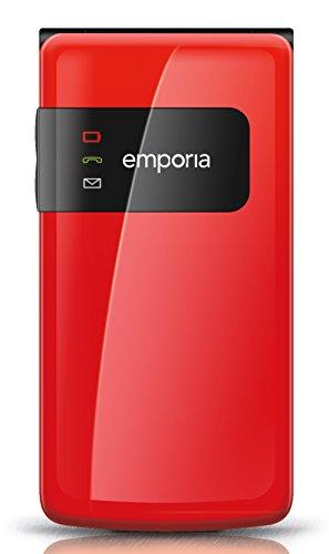 Emporia FLIPbasic (Extragroße, beleuchtete Tasten) Rot