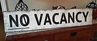 Best no vacancy wood sign Reviews