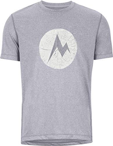 Marmot Transporter T-Shirt, Kelly Green Heather, XL Homme
