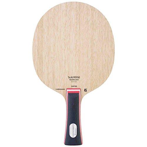 Stiga Carbonado 45 (Master Grip) Pala de Tenis de Mesa, Unisex Adulto, Madera, Talla única