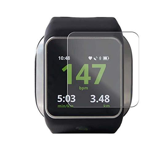 Vaxson 3 Unidades Protector de Pantalla, compatible con Adidas MiCoach Smart Run smartwatch Smart Watch [No Vidrio Templado] TPU Película Protectora