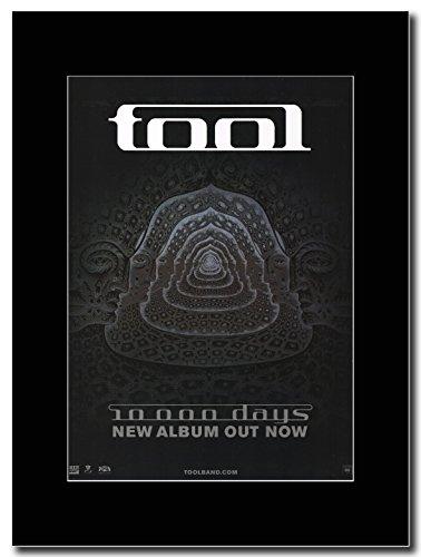 TOOL - 10,000 Days Magazine Promo on a Black Mount