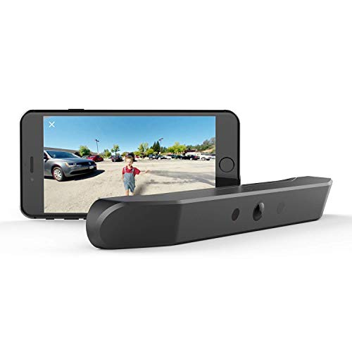 nonda ZUS Smart Rear View Camera, 170 Degree Rear View Without Wiring and Holes, Wireless Smart Backup Camera, 10 Mins Self-Install, Rechargeable Battery