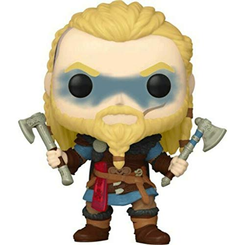 Funko Pop Games : Assassin S Creed -  Eivor Two Axes 3.75inch Vinyl Gift for Game Fans SuperCollection