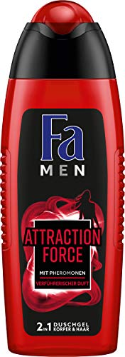 Fa Men Attraction Force douchegel (1 x 250 ml) Men Attraction Force 6 x 250 ml Aantrekking Force