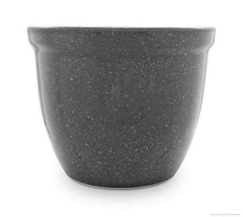 Jardinière pot de fleurs/fleurs/venus iI 50 x 40 cm-en grès granit céramique (céramique haute qualité)