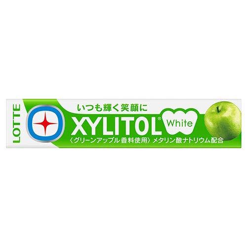 ロッテ キシリトールホワイト(グリーンアップル) 14粒 ×20個