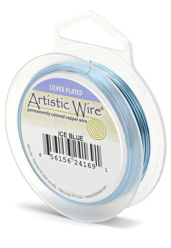 Artistic Wire Beadalon Fil résistant pour la fabrication de Calibre 26 27,43 m Bleu glacier