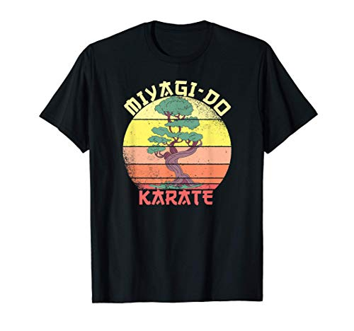 miyagi-do Karate Bonsai Retro Vintage Geschenk T-Shirt