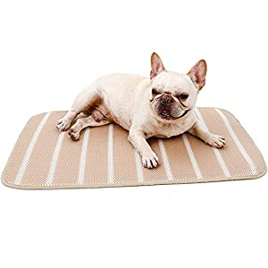 DORA BRIDAL Pet Cooling Pad for Pets, Chill Cooling Mat for Dogs Breathable & Washable Cats Cooling Blanket for Sofa, Car Seats, Floor, Outdoor Travel Pet Supplies