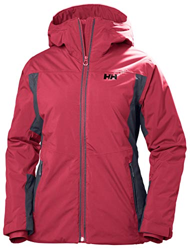 Helly Hansen Damen in in W Sun Valley Jacke XS Graphite Blue/Goji Berry