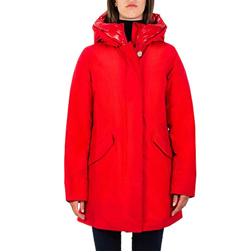 WOOLRICH Parka Donna W's Arctic Parka NF'. Colore Rosso WWCPS2769MSC XS