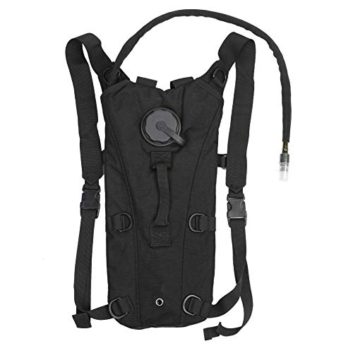 Kays Nylon Backpack For Riding Outdoor Climbing For Men Women 2L-4L Drinking Bag - Black