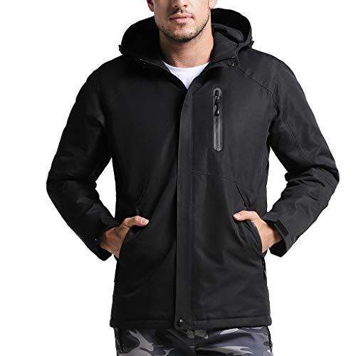 WINLISTING Frauen/männer elektronische heizung Jacke USB wasserdichte Mode Multi Farbe Mantel Baumwollwarme Starke Weste Jacke Oberseite S-XXXL