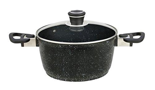GSW 166348 Titanium Granit FerroTherm - Olla Alta (24 cm)