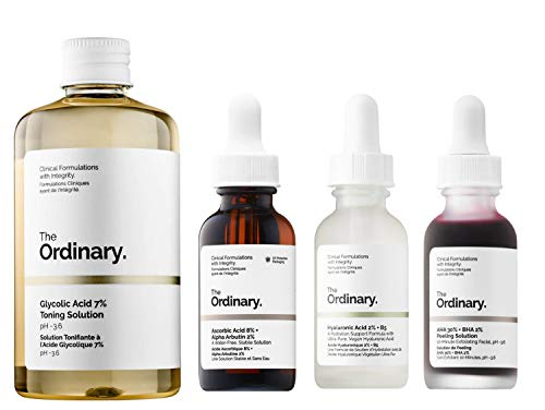 The Ordinary 4 Pieces Face Serum Se…