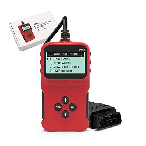 Does not apply Lector de código Obd2, Alldo Diagnostico Coche, Maquina de Diagnosis, Herramientas de diagnóstico del Sistema de Motor OBD-II, escáner OBD, escáner de diagnóstico de Coche