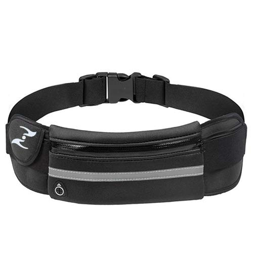 LETZTES Running Waist Pack, Unisex Running Belts, Waist Bags, Fit All Waist Size and All Kinds of Phones when Running, Hiking, Jogging, Cycling, Climbing, Doing Yoga and More
