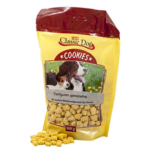 Classic Dog Snack Cookies Tierf. getreidefrei | 500g