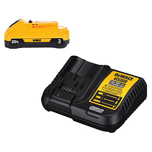 DEWALT 20V MAX Battery Pack with Charger, 3-Ah (DCB230C)