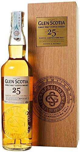 Glen Scotia Classic Campbeltown Scotch di Malto Singolo Invecchiamento 25 Anni - 700 ml