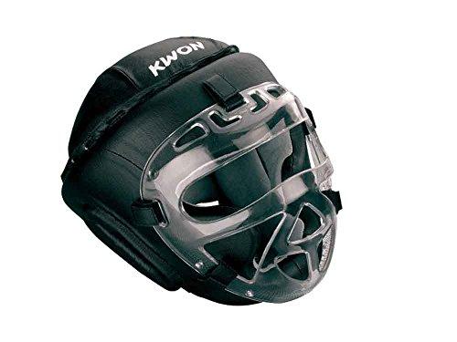 KWON® Kopfschutz Fight CE Helm mit + Gesichtsmaske visier Boxen Krav Maga