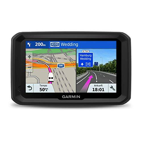 Garmin 580 MT-S, Navegador GPS para camión (Mapa Europa de por Vida), Negro, Gris, 5 Pulgadas