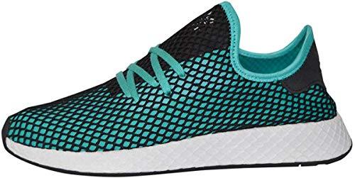 adidas Deerupt Runner Men's Shoes (Aqua Black, Numeric_9)