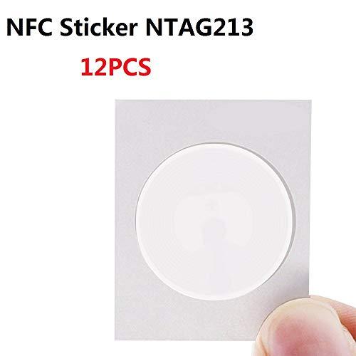 OBO HANDS Ntag215 Etiquetas NFC Compatible con Todos los Tel/éfonos M/óviles NFC y el Dispositivo 100