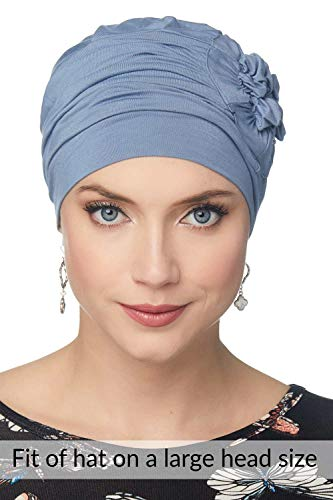 Cardani Bamboo Cuddle Cloche Hat for Women Chemo, Cancer Patients
