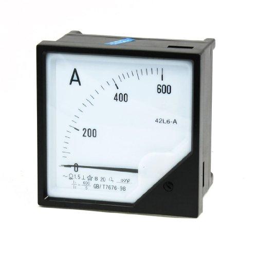 Aexit Klasse 1,5 Genauigkeit AC 600A Rechteckskala Analoges Messgerät Amperemeter (66ec0170b5e1c29af7c95bfa238193ca)