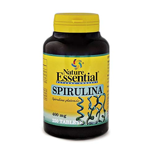 Espirulina 400 mg. 250 comprimidos