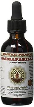 Sarsaparilla Alcohol-FREE Liquid Extract Sarsaparilla  Smilax Medica  Dried Root Glycerite Herbal Supplement 2 oz