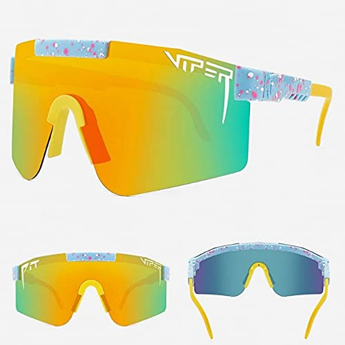 Gafas De Sol, Gafas De Montar Polarizadas para Hombres Y Mujeres, Gafas De Sol Polarizadas De Película Real De Galvanoplastia De Colores Grandes Enmarcados-c15