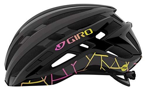 Giro Agilis MIPS Craze 2021 - Casco de bicicleta para mujer (talla M, 55-59 cm), color negro