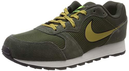 Nike MD Runner 2 Se, Zapatillas de Gimnasia para Hombre, Marrón (Sequoia/Golden Moss/Lt Bone/Volt/Black 300), 40 EU