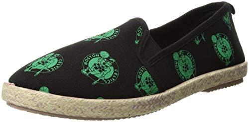 Boston Celtics Espadrille Canvas Shoe - Womens Large