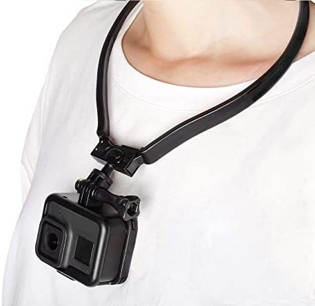 Taisioner POV VLOG Smartphone Selfie Neck Holder Mount for GoPro AKASO Action Camera and Cell product image