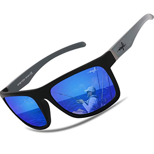 Polarized Sunglasses for Men Fishing Driving Running Mirrored Glasses UV400 Protectiont