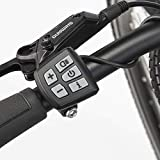 "Fischer Herren E-Bike ETH 1861.1 (Modeljahr 2019), Schwarz matt, 28"", RH 55 cm, Bafang Max-Drive Mittelmotor 80 Nm, Shimano Deore XT 1x9-Gang Kette, LCD1300 mit USB, Bluetooth, App, Suntour NCX 63 mm"