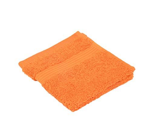 Gözze New York, Essuie Main Lot de 4, Orange, 30 x 30 cm, 550-0764-A2