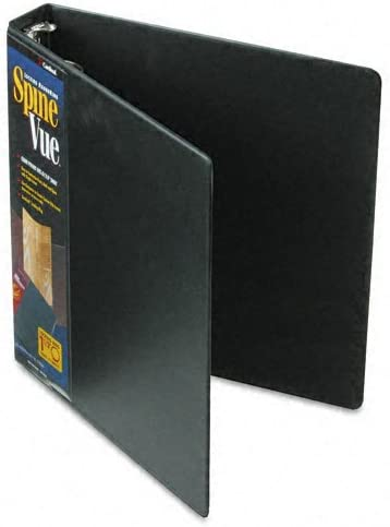 Cardinal : Spinevue Round Superior New product!! Ring View 2in Capacity Bl Binder 1-1