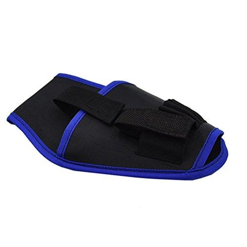 Preisvergleich Produktbild bestomz Elektriker Tasche Gürtel Tasche-Tools für 12 V / 18 V-LI Bohrschrauber Rand blau)