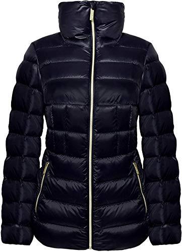 Michael Michael Kors Women's Navy Blue Down Short Packable Coat