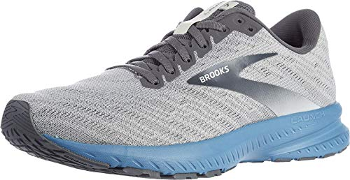 Brooks Mens Launch 7 Running Shoe - Antarctica/Black/Stellar - D - 11