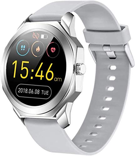 Reloj inteligente de moda Ip68 impermeable de 1.3 pulgadas pantalla táctil completa, monitoreo del sueño, pulsera deportiva, soporte Bluetooth 4.0, regalos para hombres y mujeres-B