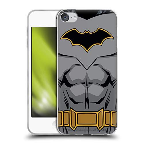 Head Case Designs Licenciado Oficialmente Batman DC Comics Disfraz de Renacimiento Logotipos Carcasa de Gel de Silicona Compatible con Apple Touch 6th Gen/Touch 7th Gen