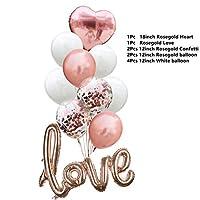 バルーン ビッグヘリウムバルーンシャンパンゴブレットバルーン結婚式誕生日パーティーの装飾アダルトキッズ風船イベントパーティー用品。 (Color : Num 11)
