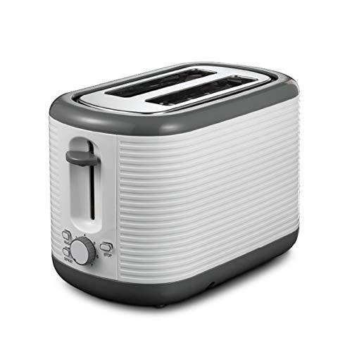 WANGYIYI Tostadores domésticos automáticos Tostadores de Desayuno Multifuncional Tostadora de Acero Inoxidable Doble tragamonedas Máquina de sándwich Fabricante de Desayuno Tostadora